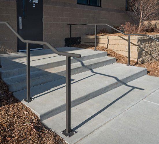 Superior2 Sidewalk railing